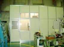 マイクロマシニングセンター専用恒温室